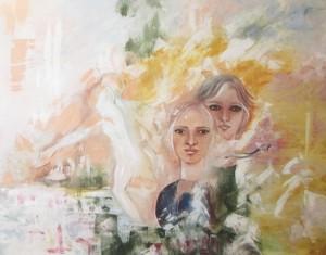 """""""Evasione"""" 2003 Olio su tela, 50x60"""