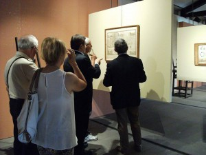 """Inaugurazione della mostra """"Imago Urbis"""" al Castello Ursino, luglio 2015"""