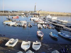 Panorama del porto di Stazzo