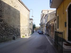 Via Nissoria a Capomulini