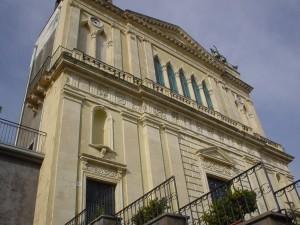 Particolare della chiesa di Santa Maria Ammalati