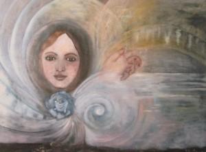 """Sogno onirico"" 2003 Olio su tela, 60x80"