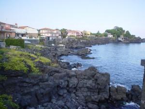 La costa di Santa Tecla