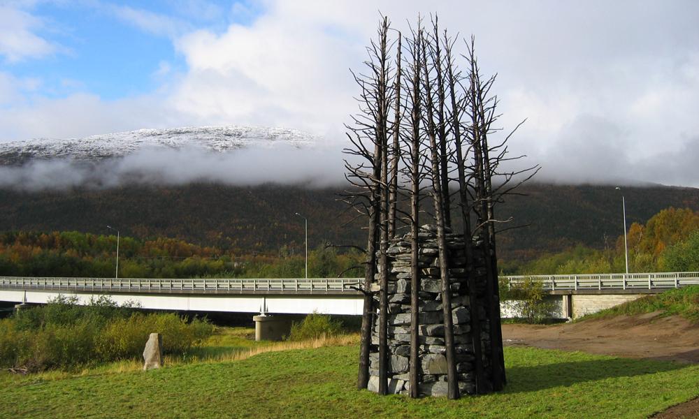 Alfio Bonanno, Malselv Varde, Olsborg, Troms, 2009, Norvegia