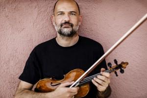 David Romano, Prima Spalla dei Violini dell'Accademia Nazionale di Santa Cecilia. Roma15 06 2020. FOTO ©Flavio Ianniello