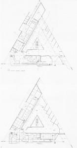 Fig. 6 – L'organizzazione degli spazi interni.