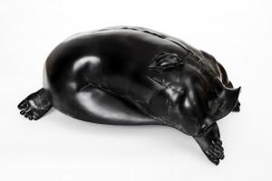 FINOTTI Novello - donna tartaruga con scarabeo