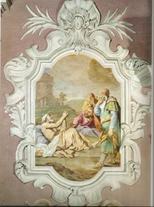 Pietro Paolo Vasta: Giobbe (Chiesa S. Maria del Suffragio Acireale)