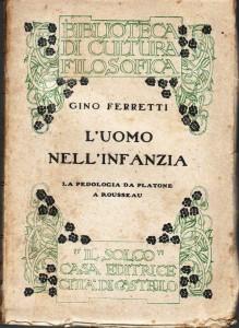 Gino Ferretti L'uomo nell'infanza copertina