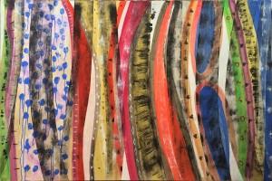 IGNAZIO MONCADA, Senza Titolo, acrilico su tela (1992), LGT