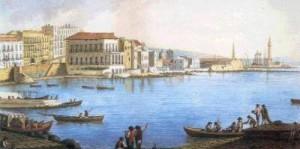 Il porto di Palermo durante il regno delle Due Sicilie