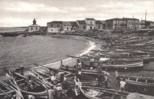 Il porto di Scoglitti in una foto d'epoca
