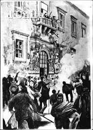 Una foto d'epoca dei Fasci siciliani