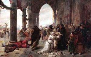Un immagine che racconta i Vespri siciliani