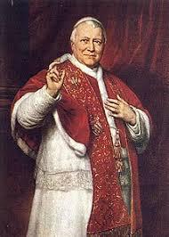Il Papa Pio IX Capo dello Stato Pontificio ai tempi della conquista savoiarda del Regno delle Due Sicilie
