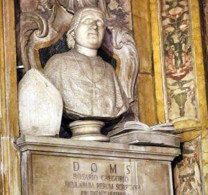 Bassorilievo in marmo dello storico Rosario Gregorio