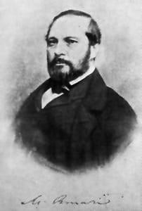 Michele Amari, politico e storico palermitano