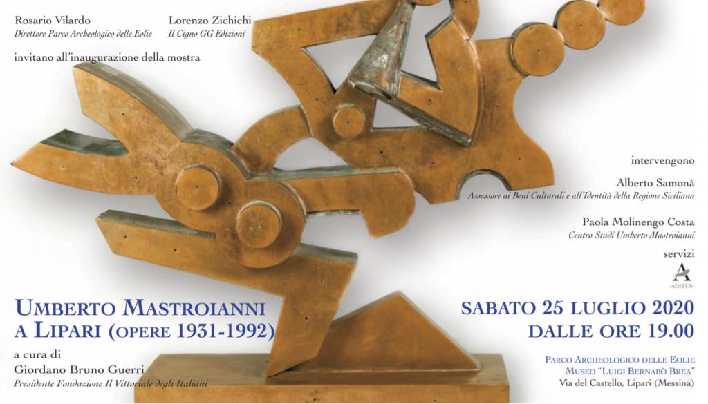 INVITO, Umberto Mastroianni a Lipari