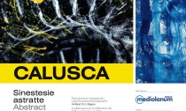 LOCANDINA Calusca. SINESTESIE ASTRATTE, 2016