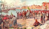 Lo sbarco dei Mille a Marsala 11 maggio 1860
