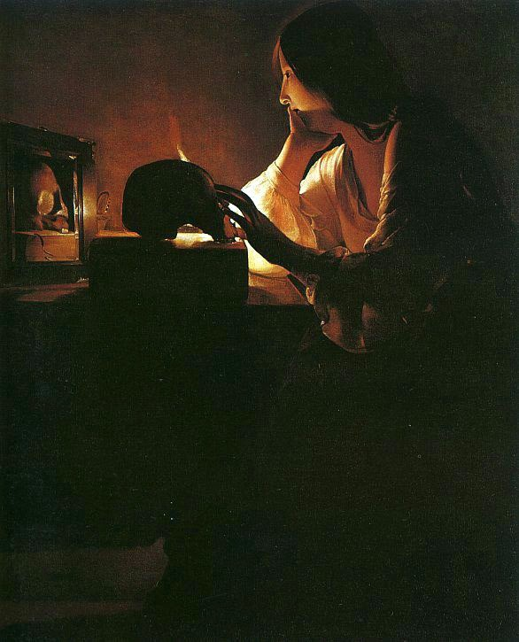Maddalena allo specchio