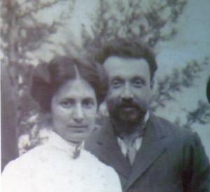 Primo Panciroli e la moglie Maria
