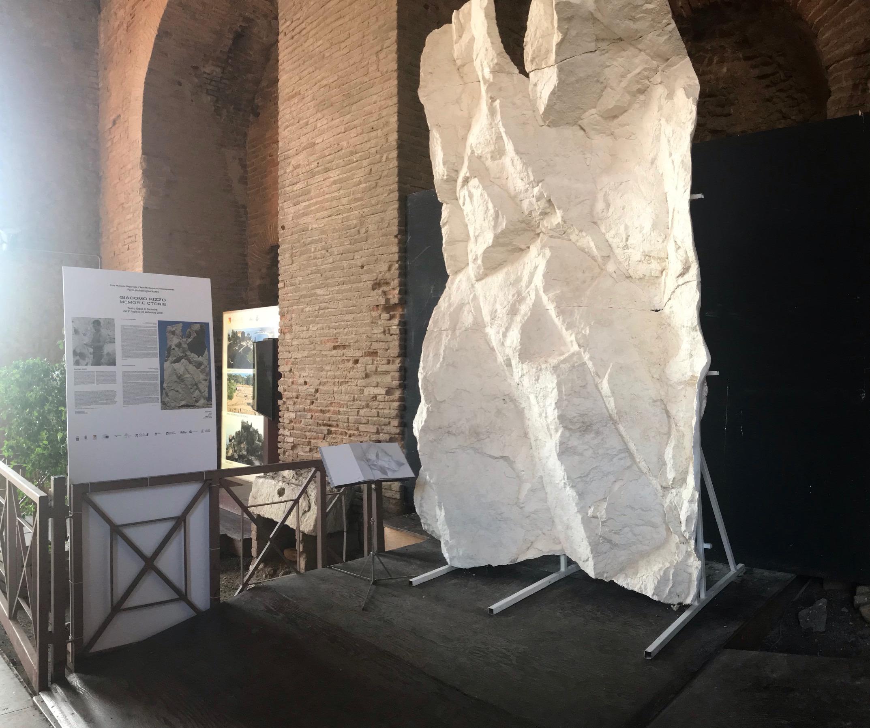 TAORMINA, Respiro, scultura di Giacomo Rizzo