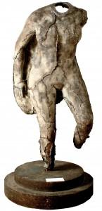 UMBERTO MASTROIANNI, Nudo femminile, maschera in bronzo, 1939