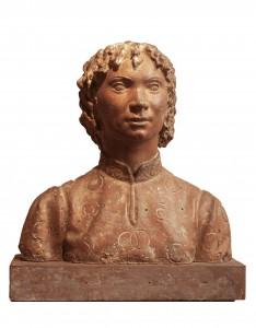 UMBERTO MASTROIANNI, Ragazzo fiorentino, scultura in bronzo, 1931