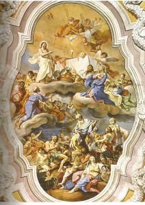 Pietro Paolo Vasta: Il miracolo eucaristico (Chiesa S. Maria del Suffragio Acireale)