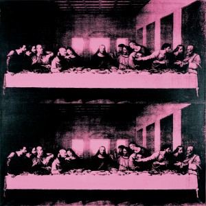 WARHOL Andy - The Last Supper (Large) copy