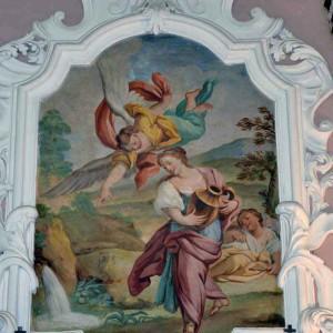 Pietro Paolo Vasta: Agar e Ismaele (Chiesa S. Maria del Suffragio Acireale)