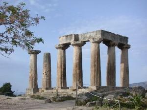 tempio di Apollo a Corinto