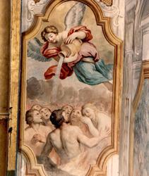 Pietro Paolo Vasta: le anime purganti (Chiesa S. Maria del Suffragio Acireale)